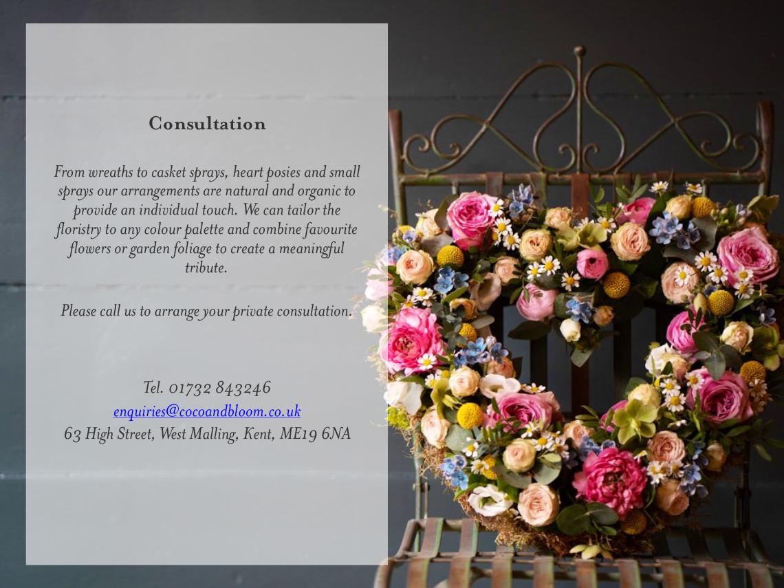 Funerals Brochure