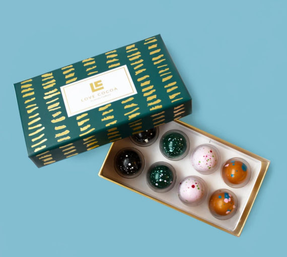 Love Cocoa Chocolate truffle bonbons, delivery, Kent