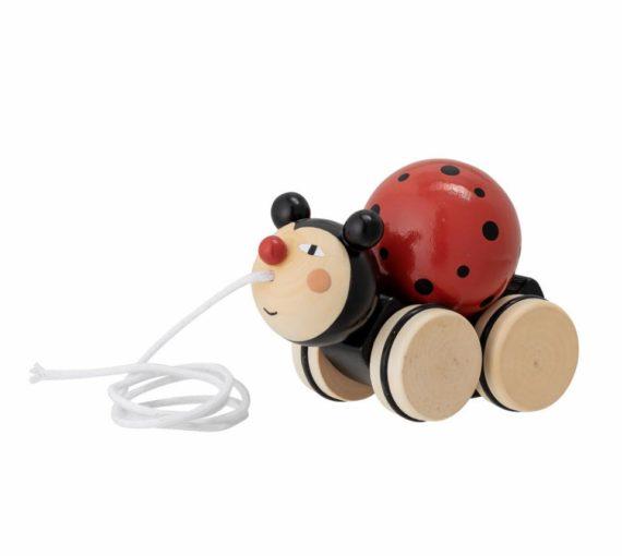 Bloomingville children's toys, Hunter Pull Along Ladybird, Kent