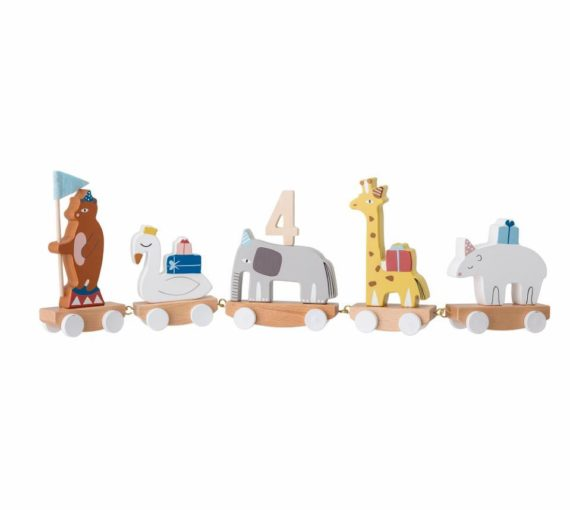 Bloomingville children's toys, Morea Birthday Train, Kent