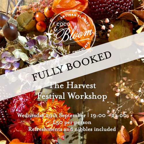 The Harvest Festival Workshop - Fully Booked