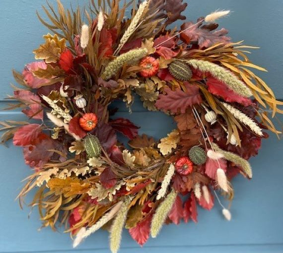 Autumn Wreath, Rowan - West Malling, Kent