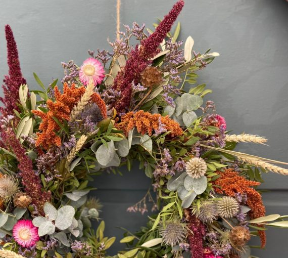 Eco Friendly, foraged wreath - Forest- West Malling, Kent