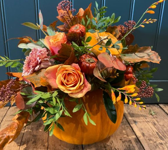 Pumpkin & Flowers, collection or delivery, West Malling